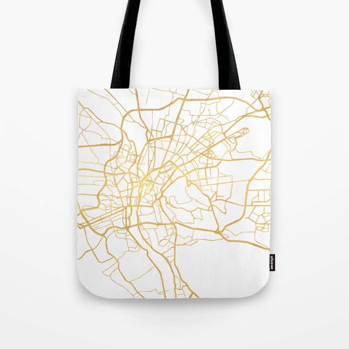 Cairo Egypt City Street Map Art Tote Bag By Deificusart Society6