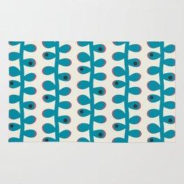 Like a Leaf [blue spots] Rug