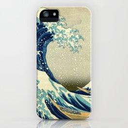 The Great Wave off Kanagawa iPhone Case