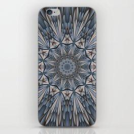 Floral explosion mandala for rejuvenation iPhone Skin