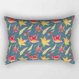 Falling leaves pattern Rectangular Pillow