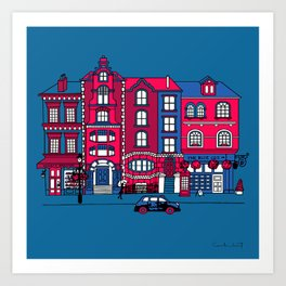 London Facade Art Print