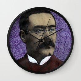 Rudyard Kipling Wall Clock