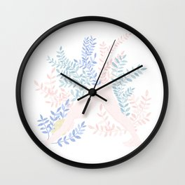 gentle morning Wall Clock
