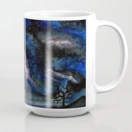 Light show in the dark Coffee Mug