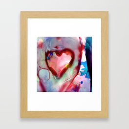 Heart Dreams 4H by Kathy Morton Stanion Framed Art Print