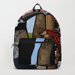 Without Borders with Titles Backpack