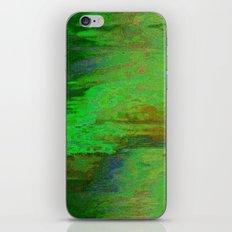 07-030-14 (City Reflection Glitch) iPhone & iPod Skin