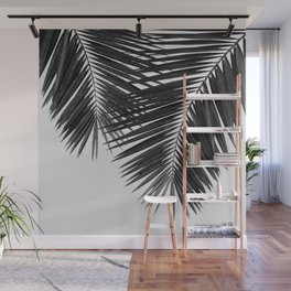 Palm Leaf Black & White II Wall Mural