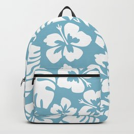 Powder Blue Tropical Breeze Backpack