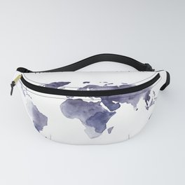Work. Travel. Love. Repeat Fanny Pack