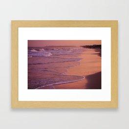 Beach at Dusk Hilton Head Island Framed Art Print