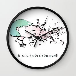 Daily Distortions Wall Clock