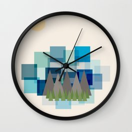 Daytime Adventures Wall Clock