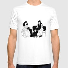 GERTIE SMALL Mens Fitted Tee White