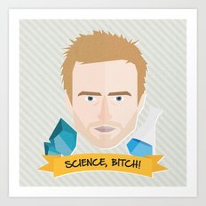 Jesse Pinkman Breaking Bad Art Print