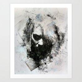 M.M. (no. 3) Art Print