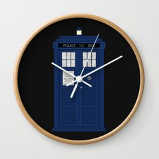 Doctor Who's Tardis Wall Clock