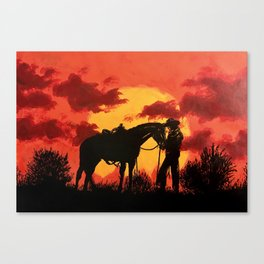 Red 2 Canvas Print