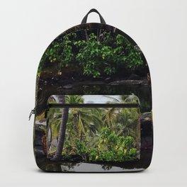 Hawaiian Queen's Bath Backpack