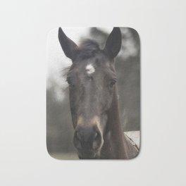Horse with Gental Eyes Bath Mat