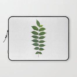 Green Leaf Botanical Print Laptop Sleeve
