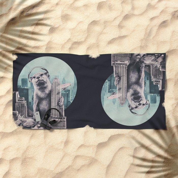 DJ Beach Towel