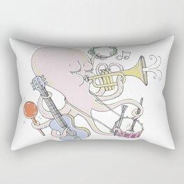 Music Octopi  Rectangular Pillow
