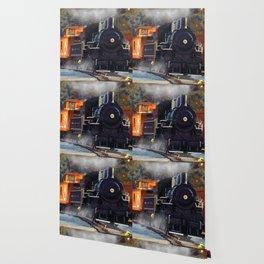 The Rail Yard  -  Steam Train Wallpaper