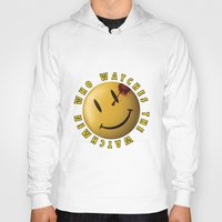 watchmen Hoodies featuring Who Watches The Watchmen? by Jack Allum