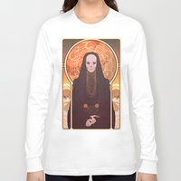 heymonster Long Sleeve T-shirts featuring Reverend Mother by heymonster