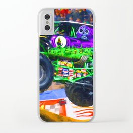 Monster Jam Grave Digger Clear iPhone Case