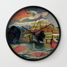 Lago Maggiore Wall Clock