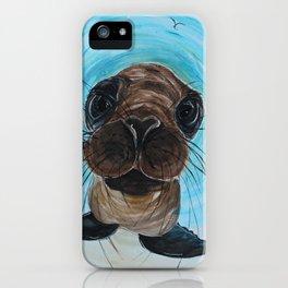 HUGO THE SEAL iPhone Case