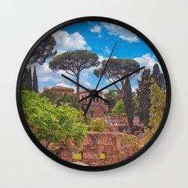 The Roman Forum Wall Clock
