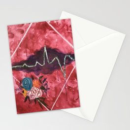Cardiac Arrangement Stationery Cards