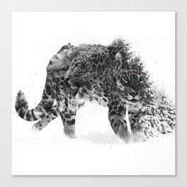 Leopard V1 Canvas Print