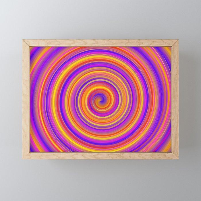 Delicious Roll Framed Mini Art Print