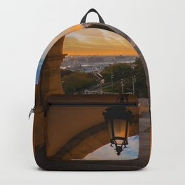 Fisherman's Bastion in Budapest, Hungary Backpack