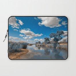 Kruger Park Landscape - Winter Blue Laptop Sleeve