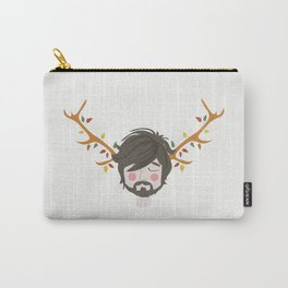 The Man With The Antlers Carry-All Pouch