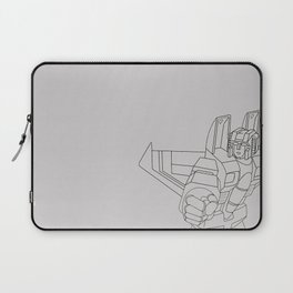 Starscream G1 grey Laptop Sleeve