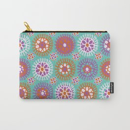 Bright Flower Doodles Carry-All Pouch