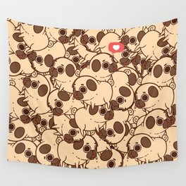 Puglie Heart Wall Tapestry