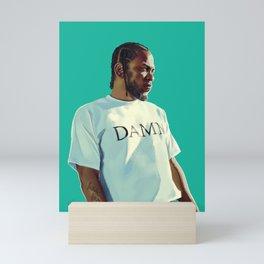 KENDRICK, DAMN. Mini Art Print