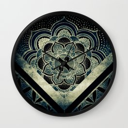 Sacred Geometry for your daily life - ESOTERIC ALEPH KYBALION EYE Wall Clock