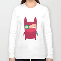 ninja Long Sleeve T-shirts featuring Ninja by Joy Pham