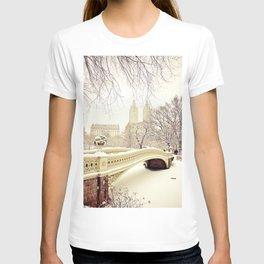 New York City Snow Wonderland T-shirt