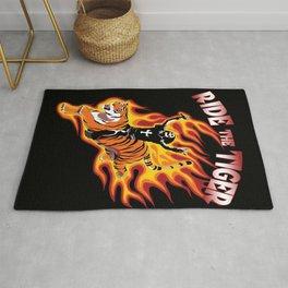 heavy metal dio Ride The Tiger Rug