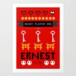 Ready Player One Alternate Cover Art Print